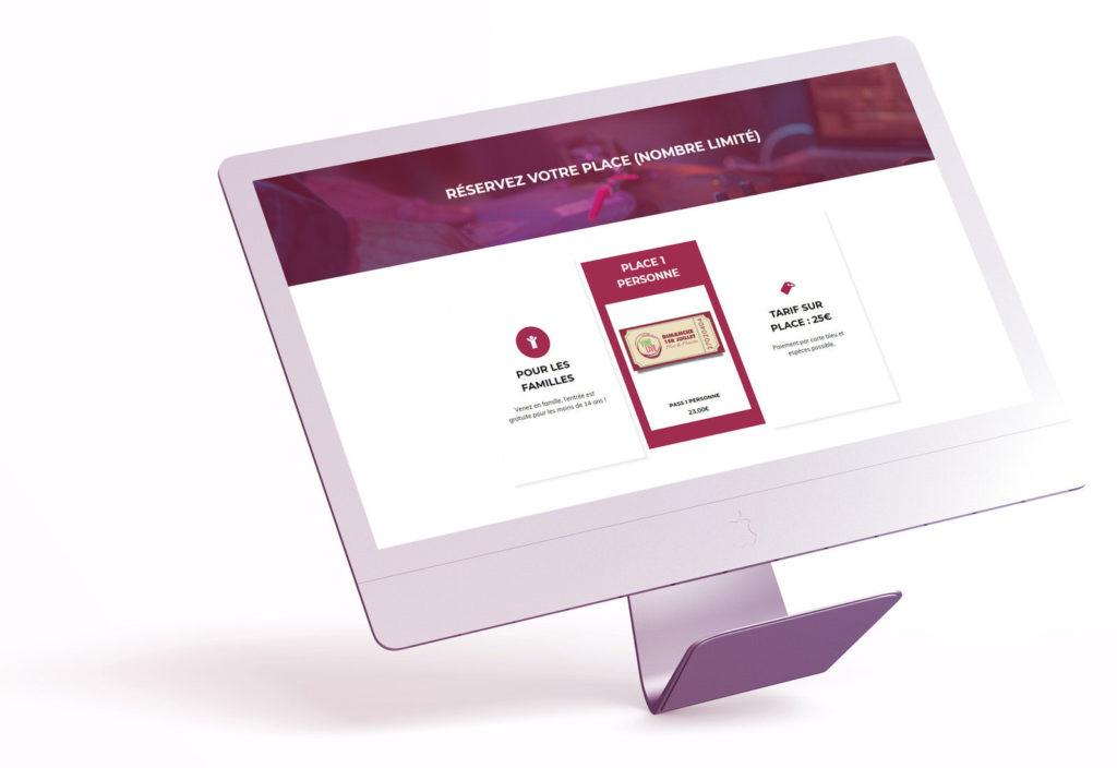 billetterie en ligne check event
